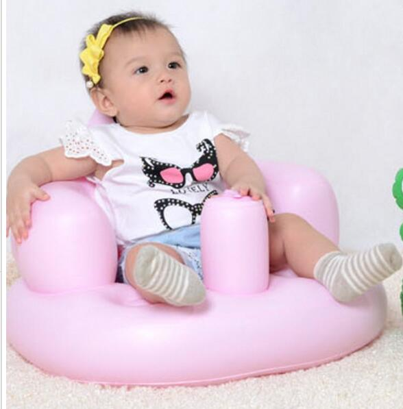 Baby Inflatable Thickened Sofa Portable Multi-function Baby Sofa Chair Dining Chair Child Safety Seat Shower Chair T01 bath seat dining chair baby inflatable kids sofa baby chair portable baby seat chair play game mat sofa kids inflatable stool