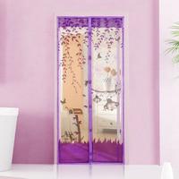 Summer Lovely Design Moustiquaire Net Curtain Screen Door Mosquito Net Curtain Polyester Screen Door Magnet Free