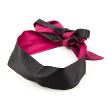 Two Tone Silk Erotic Blindfold