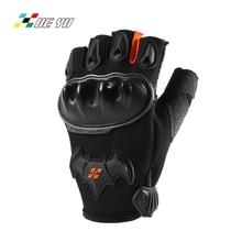 ФОТО xue yu non-slip breathable summer half-finger motorcycle gloves motocross motorbike guantes luva guanti gants moto mto-033b