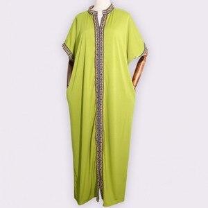 Image 2 - Африканские платья для женщин, традиционное Африканское длинное платье Bazin, африканская одежда с вышивкой, Дашики, платье для женщин