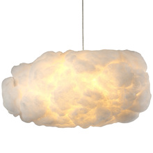 Creative floating pendant light white clouds post modern home decoration new arrival Bjornled cloud pub bar restaurant Art