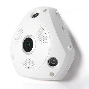 Image 2 - MOOL Professionelle 360 grad Panorama 960 p HD kamera Drahtlose IR glühbirne Fisheye Kamera Sicherheit Birne WIFI kamera
