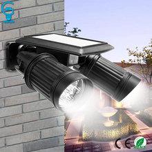 Waterproof 14 LED Solar Light PIR Motion Sensor Wall Light R
