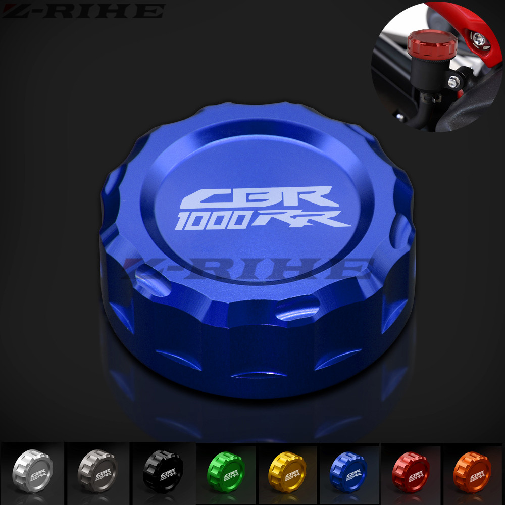 For Honda CBR 1000 RR/CBR 1000 RR C-ABS 2008-UP 2012 2013 2014 2015 2016 Motorcycle CNC Rear Brake Fluid Reservoir Cover Cap cbr