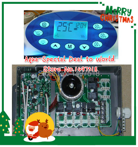 Jnj My Store >> Ethink KL8600 spa control box and topside panel for JNJ,yehua, jazzi Spa Serve and spa part ...