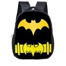 12 дюймов супергероя с принтом «Железный человек», «Бэтмен» школьный рюкзак Тор печать школьные сумки для детей детский сад Детский рюкзак подарок