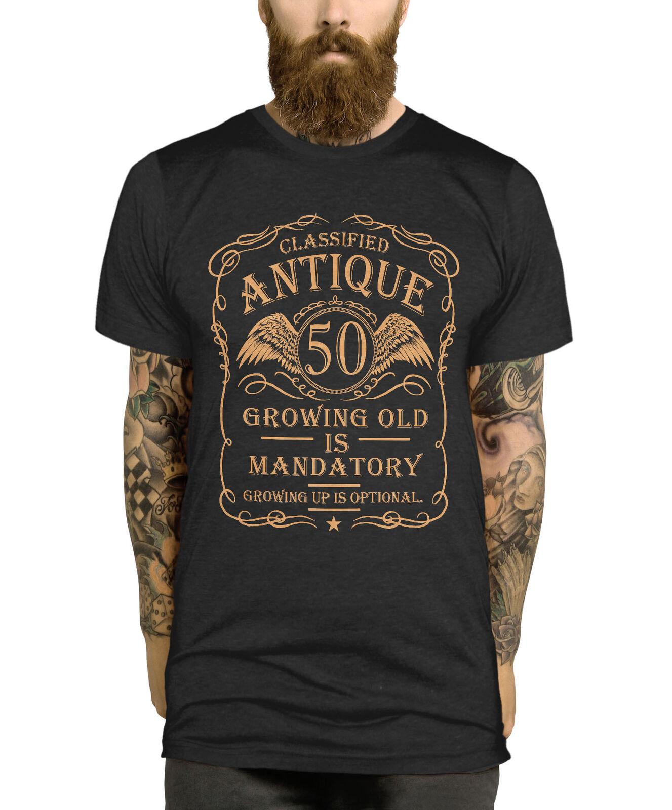 50th Birthday T Shirt Gift Idea For Men Funny Present