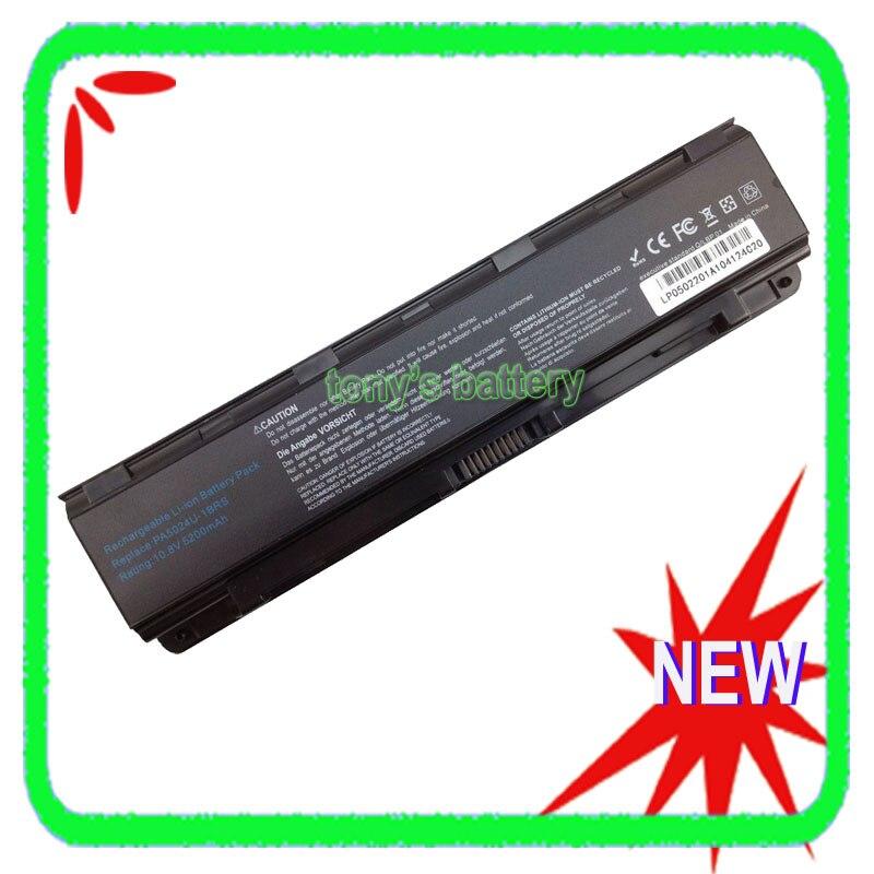 5200mAh Battery for Toshiba Satellite C800 C805 C850 C855 C870 L800 L830 L840 L855 L870 PA5023U-1BRS PA5024U-1BRS, цена и фото