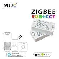 ZIGBEE LED Controller RGB CCT Zigbee Controller LED DC12 24V LED Strip Controller ZLL App Controller RGBW RGB Zigbee Dimmer
