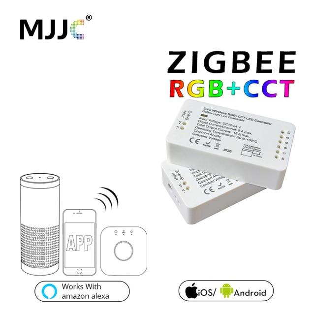 Zigbee Led Controller Rgb Cct Dc12 24v Strip Zll Rgbw Dimmer