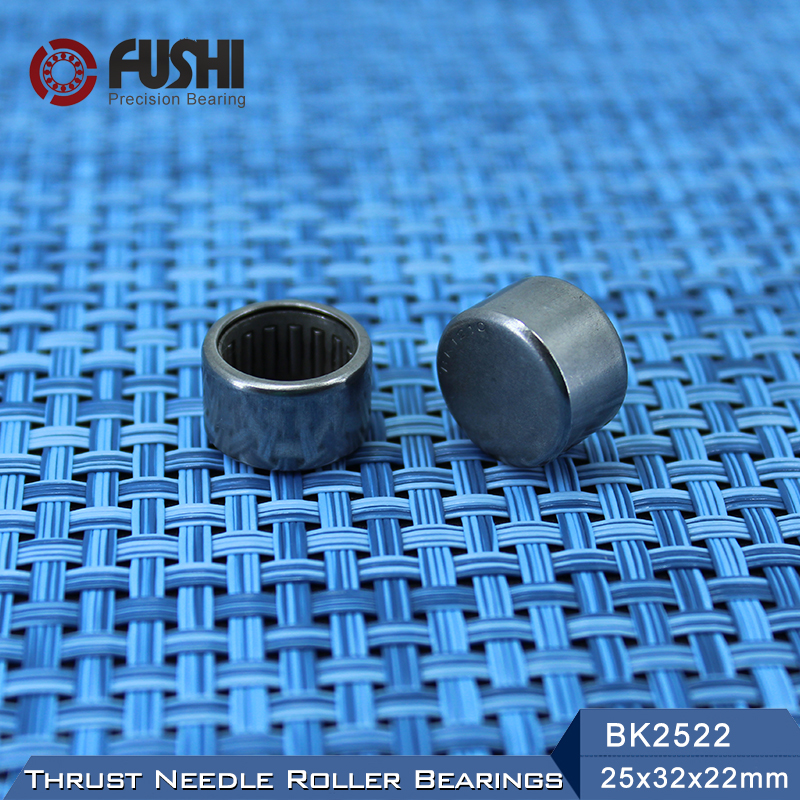 BK2522 Needle Bearings 25*32*22 mm ( 1 Pc ) Drawn Cup Needle Roller Bearing  BK253222 Caged Closed ONE End na4910 heavy duty needle roller bearing entity needle bearing with inner ring 4524910 size 50 72 22