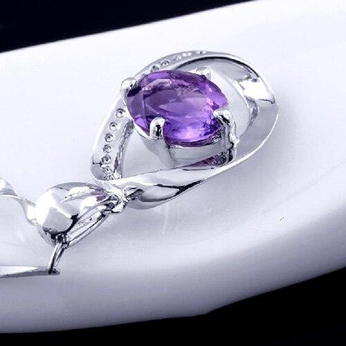 Ожерелье колье QI Xuan_Purple камень кулон Necklaces_Real Necklace_Quality Guaranteed_Manufacturer непосредственно продаж