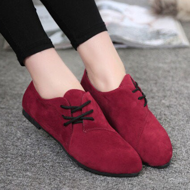 Chaussures Dames Confortable 17 Beige Femmes Arc De red Plat Toe brown Newtest Ronde Mode black Gentilles Talon Slip Casual Knot 1q5WOSw