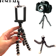 Get more info on the 165x35x35mm Universal Octopus Mini Tripod Supports Stand Spong For Mobile Phones Small Lightweight DLSR Cameras Accessories