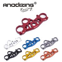 FREE SHIPPING black gold red blue For YAMAHA R1 2004 2006 Lowering Triple Front End Upper Top Clamp