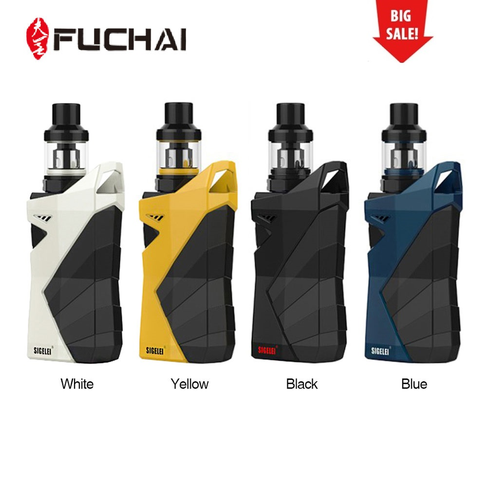 Оригинальный fuchai R7 230 Вт тк кит w/T4 бак 2,5 мл Поддержка питания/SS/Ti1/Ni200/TCR режим без 18650 Батарея поле Mod комплект для электронной сигареты Vs PD1865