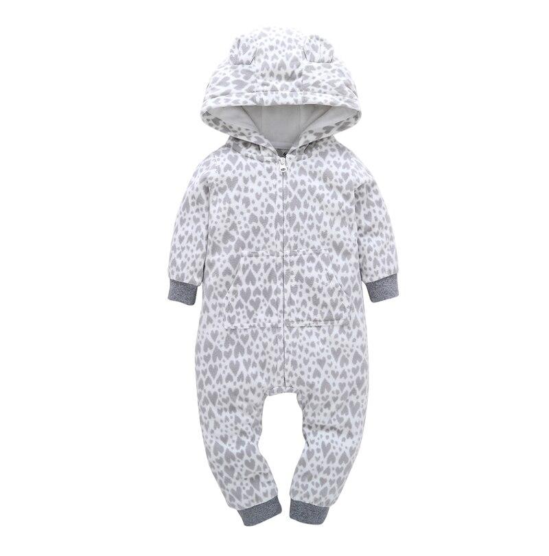 HTB1wpEVj3LD8KJjSszeq6yGRpXa3 kid boy girl Long Sleeve Hooded Fleece jumpsuit overalls red plaid Newborn baby winter clothes unisex new born costume 2019