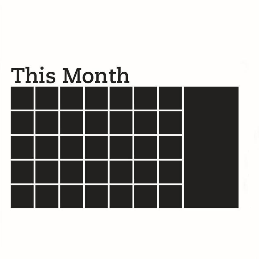 Aliexpress.com : Buy 68.5*110cm Blackboard Sticker