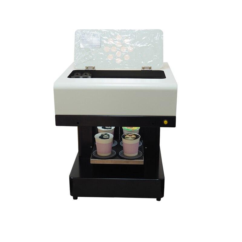 4 kahve fincanları yazıcı yenilebilir mürekkep seçeneği acıbadem kurabiyesi kahve baskı makinesi