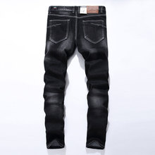 2019 New Arrival Fashion Dsel Brand Men Jeans Washed Printed