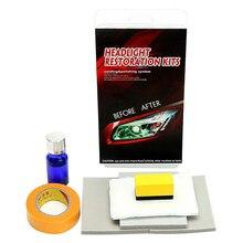 Auto di Vetro Del Faro Polacco Scratch Restorstion Graffi Ossidazione Obiettivo di Vetro Ristrutturazione Riparazione Luminoso Liquido