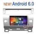 Бесплатная Доставка 8 icnh HD Android 6.0 Автомобиль DVD GPS Для Citroen C4 C-Triomphe C-Quatre 2004 2005 2006 2007 2008 2009