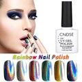 10ML Gel Nail Polish Rainbow Series UV Lamp Soak Off Glitter Gel Polish 12 Colors DIY Beauty Art Nail Glue