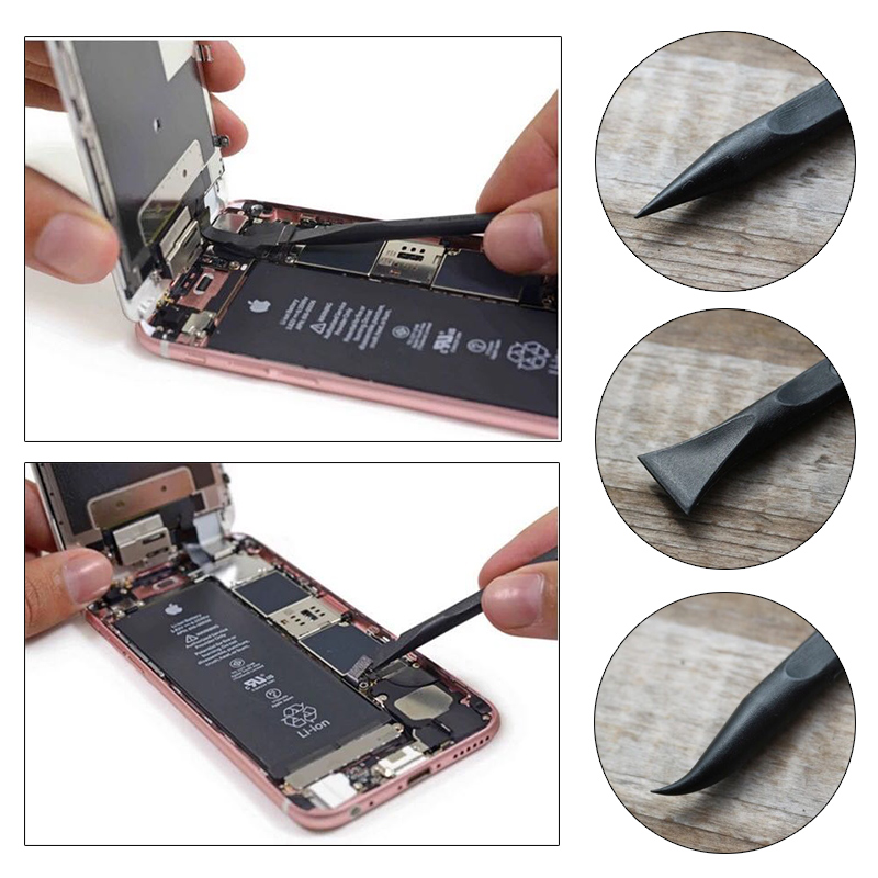 UANME 4 IN 1 Mobile Phone Opening Tools Anti static Spudger Stainless Steel Blade Soft Thin Pry For Mobile Phone Tablet PC in Hand Tool Sets from Tools