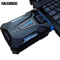 NKOBEE Laptop Cooling Pad Portable USB MINI Cooling Fan Air Cooler Speed Adjustable Ice Troll 3 Notebook Fan Cooler Controller