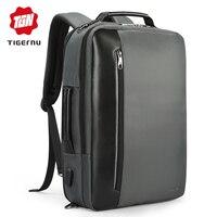 Tigernu Brand Nylon Waterproof Backpack Men Business 15.6Laptop Shoulder Backpack Multifunction Schoolbags Mochila Travel Work