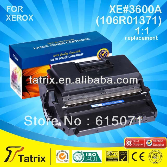 FREE DHL MAIL SHIPPING. 106R01371 Toner Cartridge ,Triple Test 106R01371 Toner Cartridge for Xerox toner Printer