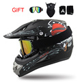 Super Light Helmet Motorcycle Racing Bicycle Helmet Cartoon Children ATV Dirt bike Downhill MTB DH cross Helmet capacetes