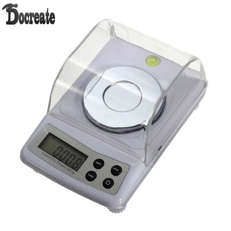High Precision 50g 0.001g Electronic Digital Scale Jewellery Balance Gram Scales 500g x 0 01g scale electronic pocket precision balance quality digital scales jewelry gold gram balance weighting scale