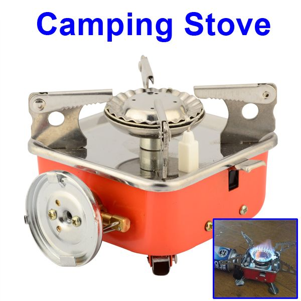 New Wild Hm166 L7 Portable Stainless Picnic Gas Stove Butane Burner Camping Equipment Outdoor Hiking