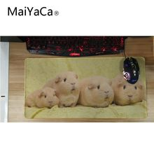Купить с кэшбэком MaiYaCa Animal wallpaper for office Computer Large Locking Edge Mouse Pads Laptop Keyboard Mat for Speed/Control Version