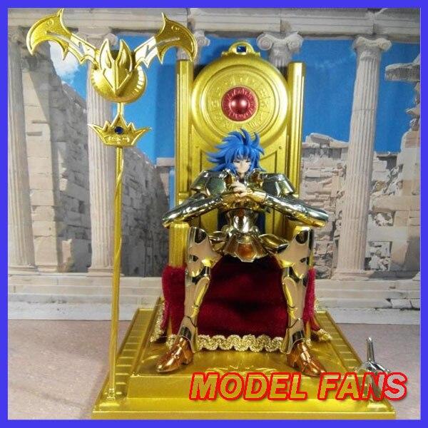 MODEL FANS Saint Seiya EX  cloth myth Toyzone pope throne Freeshipping in stock saint seiya lc model cloth myth ex 2 0 white robe pope saga improved version you can select throne