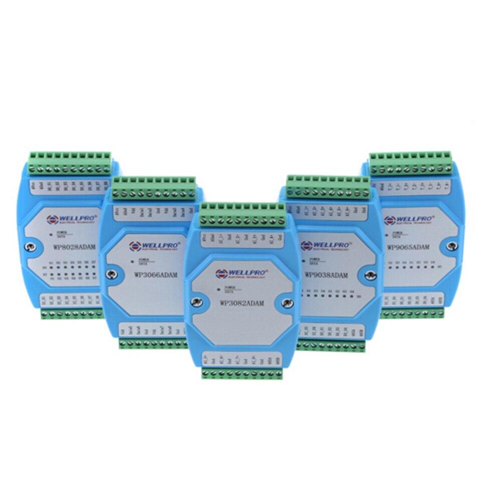 modulo de entrada digital e saida isolado 8di 8do communication wp8028adam modbus