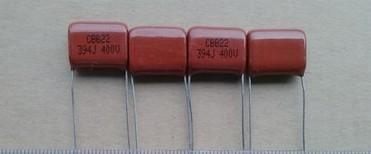 CBB Film Capacitors 394J 400V 0.39UF 390NF TV Color TV Capacitors