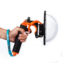 TELESIN 6 GoPro Dome Port Lens Cover Waterproof 30M+Shutter Trigger+Anti-fog Insert for GoPro Hero 4 3 3+ Underwater Photography