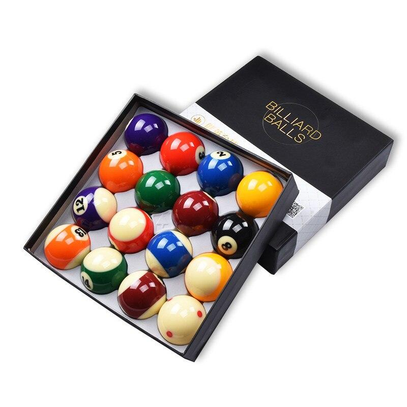 Jianying billard seize balles américain noir 8 fantaisie neuf balles 16 coloré billard billard noir huit billard