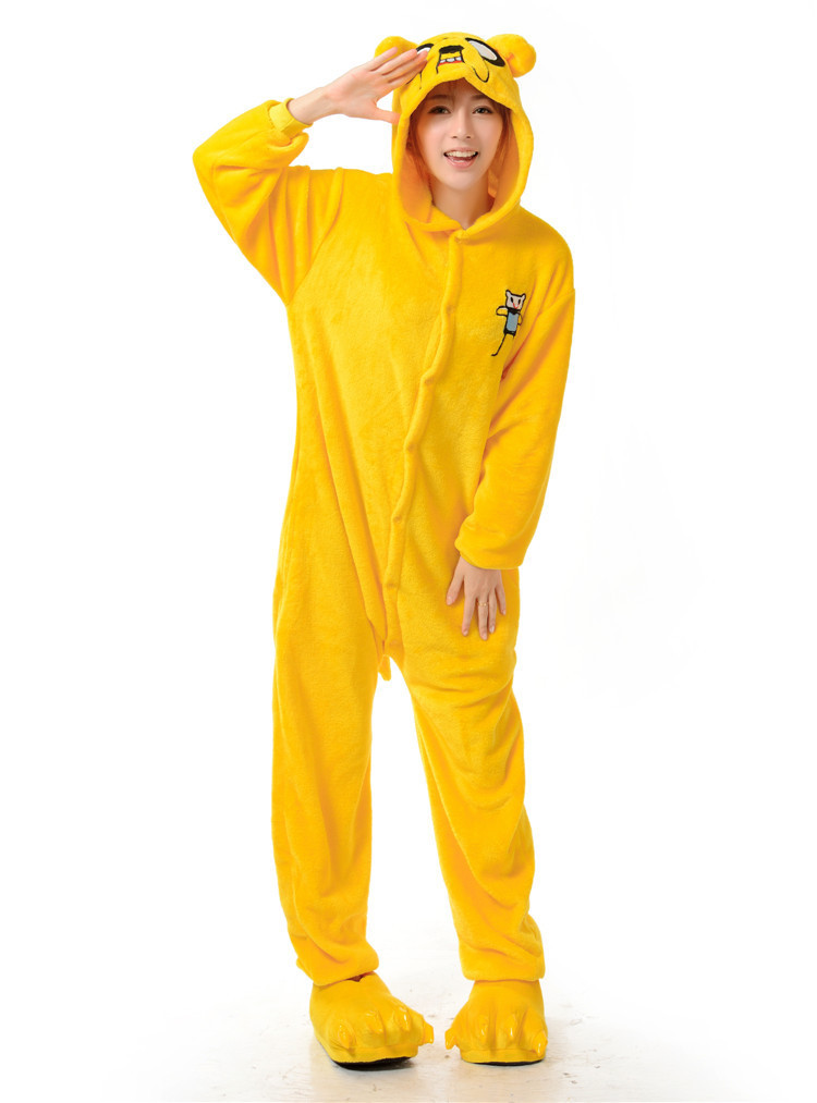 Adult Pyjamas Jake Dog Onesies Cosplay Costume Pajamas Cartoon Animal Onesies Kigurumi Sleepwear For Women Men jung kook bts persona