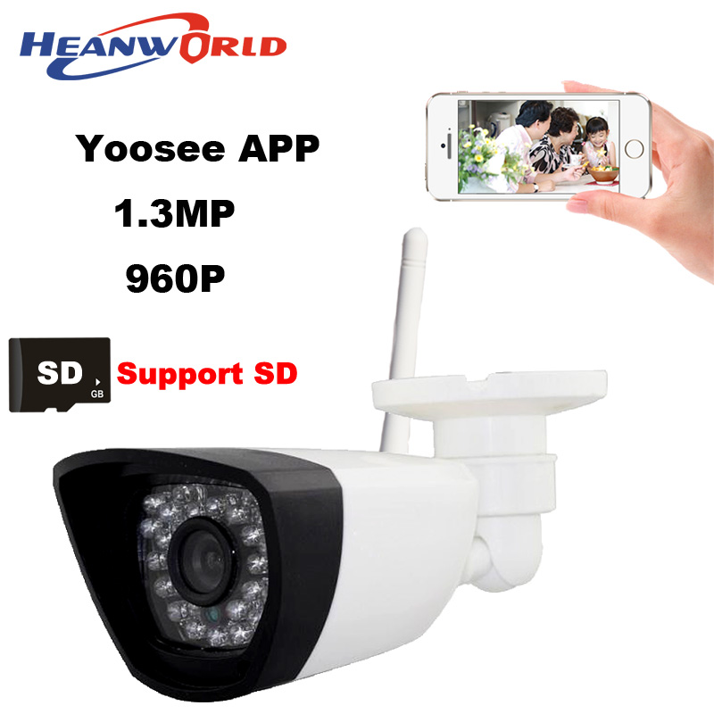 ФОТО 960P IP camera wifi CCTV Webcam wireless Network Surveillance Security Camera 30LED supprot smartphone view micro SD card slot