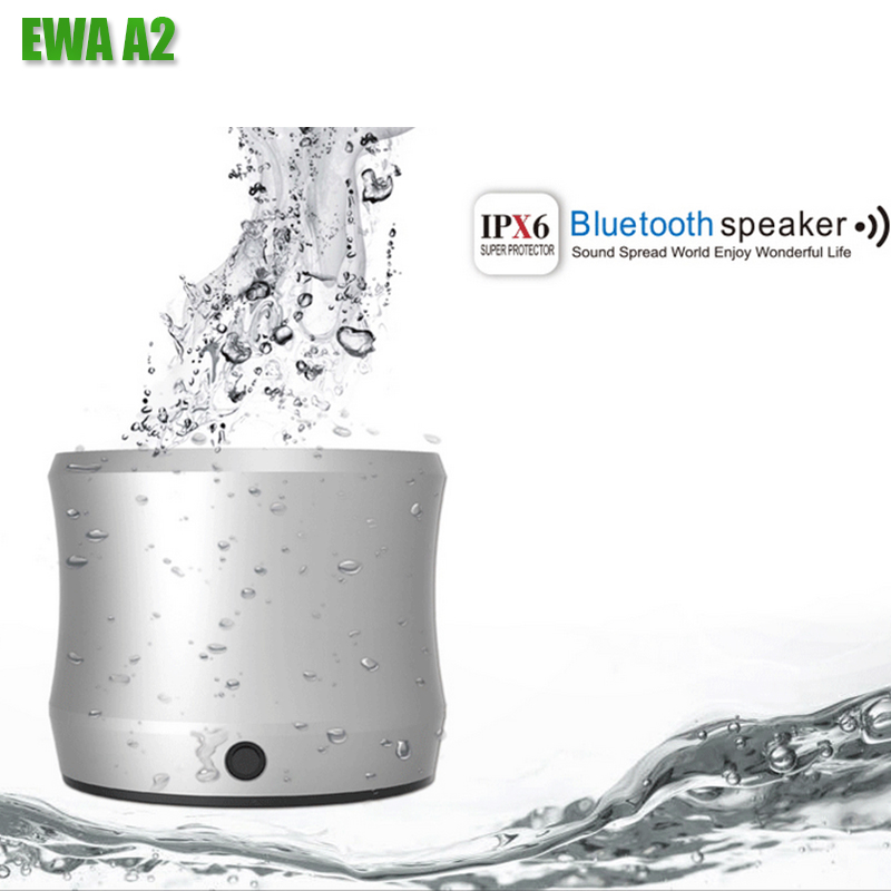EWA A2 Portable Wireless Bluetooth Speaker Waterproof Heavy Metal Portable Bluetooth Speaker For phone Sport Bluetooth Player