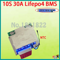 10S 30A lifepo4 36V BMS PCM 10s lifepo4 battery protection board bms pcm with balancing LED LIGHT for lifepo4 battery cell pack