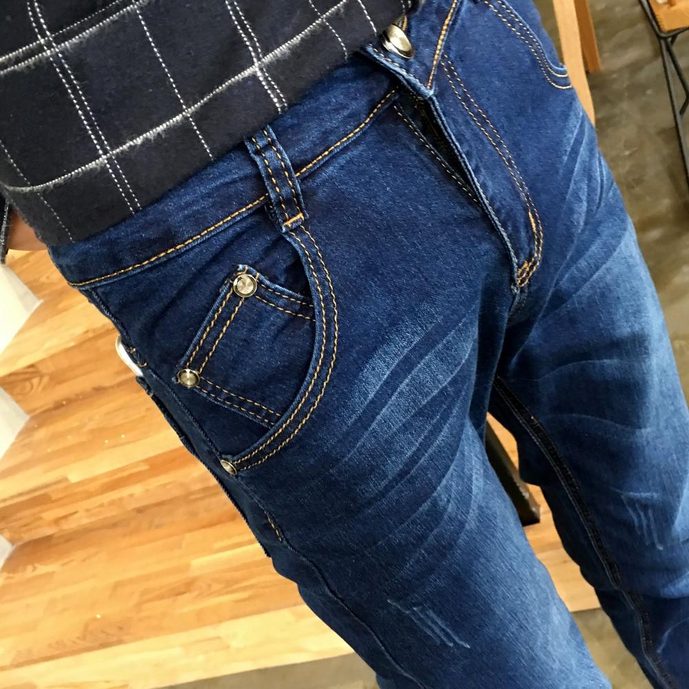 2017 Baru Pria Jeans Ukuran 28 Sampai 34 Hitam Biru Denim Celana Jogger Panjang Raf 07900900 Navy 32 Gaya Korea Kaki Kecil Katun Skinny Luxury Padat