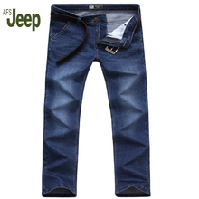 2017 New Men's Jeans Straight Loose Men's Spring And Summer Jeans AFS JEEP Brand Men's Casual Fashion Pants 75