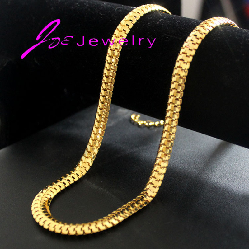 gold with men high fashion for plated wholesale quality necklace trendy products chain stamp new real jewelry chains