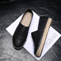 Plus Size 9.5 Women's Genuine Leather Ballet Flats Moccasins High Quality Slip-on Espadrilles Ladies Casual Loafers Shoes Women