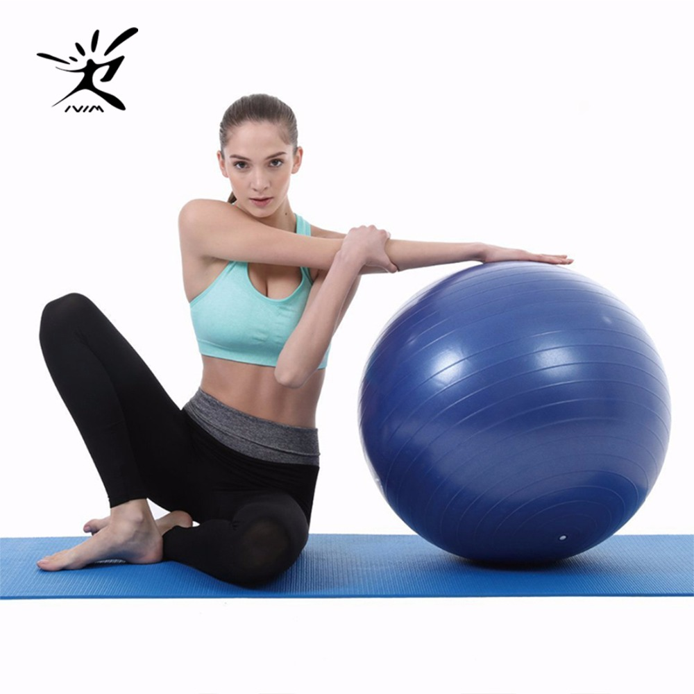 Ivim Balance Exercise Anti-Burst Ball-Pump Stability-Ball Fitness for Free Children Toy/yoga-Accessory